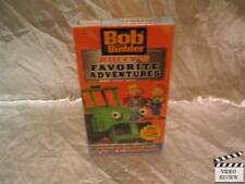 Bob The Builder: Roley's Favorite Adventures VHS NEW