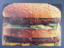 Big Mac Do You Remember Book Color Promotional Promo Advertising Postcard