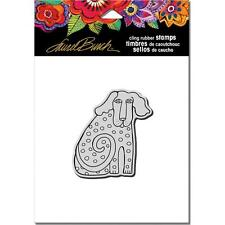New Stampendous RUBBER STAMP cling LAUREL BURCH DOG TAIL  FREE US SHIP