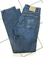 Hollister Mens Jeans Straight Leg Medium Wash Blue Denim 32 32