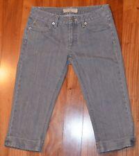 Marc Jacobs gray Debbie low rise stretch skinny crop jeans size 26