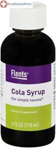 Cola Syrup 4 fl oz Flents For Releif Simple Nausea