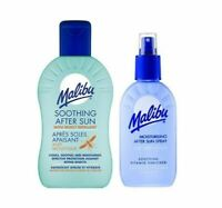Malibu Soothing After Sun with Insect Repellent 200ml 100ml Travel Size