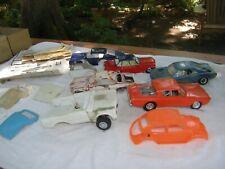 Vintage model parts junkyard