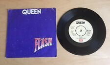 """QUEEN ~FLASH / FOOTBALL FIGHT~. 7 """" Single UK, 1980, EMI 5126) Picture Cover"""