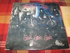 MOTLEY CRUE - GIRLS, GIRLS, GIRLS Elektra 9 60725-1 LP