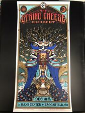 String Cheese incident Poster 12/31/2014 Broomfield Co Sci Luenig New Years Eve