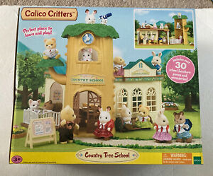 Calico Critters CC2924 Country Tree School Toy, never opened or used