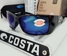 COSTA DEL MAR tortoise/blue mirror BLACKFIN POLARIZED 580P sunglasses NEW IN BOX