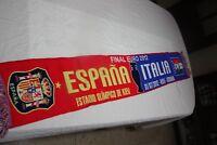 BUFANDA VINTAGE FINAL EUROCOPA 2012 SELECCION DE ESPAÑA Y DE ITALIA      SCARF