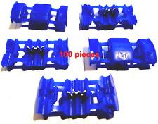 ( 100 PCS ) 53440-1 TE Connectivity AMP Wire Splice Electrotap, Crimp 18 -14 AWG
