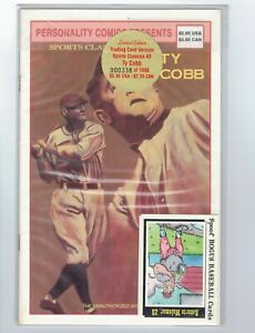 Sports Classics #3 Ty Cobb VF/NM Limited Edition Trading Card Version (338/1000)