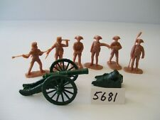 Armies In Plastic 5681 - American Rev. Artillery - French 6 Pounder & Mortar