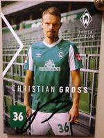SV Werder Bremen + Original Autogrammkarte 2020/2021 Christian Gross + AK2021054