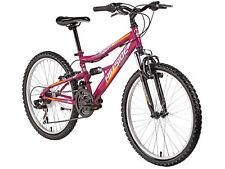 """24"""" Kinderfahrrad 24 Zoll Mountainbike Rad Fahrrad Bike Mädchenfahrrad 21 Gänge"""