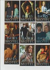 Lot of 9 Bates Motel Breygent Season 1 promo Cards Philly Non sport show