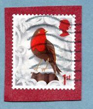 GB/UK stamp 2016 Christmas. European Robin
