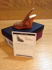 Raine Just the Right Shoe Coa Box Solar Heat 25579 Step Into Your Fantasies