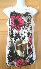 Crew Neck Floral Sleeveless Tops & Shirts NEXT for Women