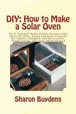 DIY: How to Make a Solar Oven : Do It Yourself Solar Cooker Science Fair Idea...