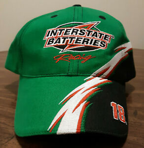 2004 Chase Authentics Bobby Labonte Interstate Batteries Racing Hat Cap