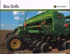 "John Deere Tractor ""Box Drill"" Brochure Leaflet"