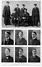 HARVARD AND YALE UNIVERSITY SCHOLARS, CLASS OF 1897