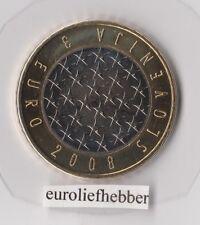 Slovenië  3 Euro BU ( EU)  Bimetaal   2008  Uit BU Set    IN STOCK