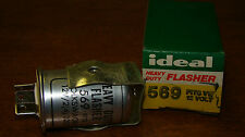 IDEAL PARKER AUTOMOTIVE 569 HEAVY DUTY FLASHER RELAY NOS