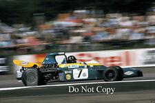 Graham HILL BRABHAM bt34 British GP 1971 Fotografia