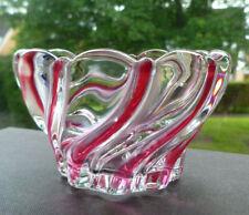 VINTAGE GERMAN MIKASA WALTHER ART GLASS SMALL BOWL