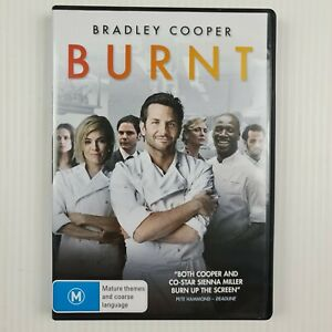 Burnt DVD - Region 4 - Bradley Cooper - TRACKED POST