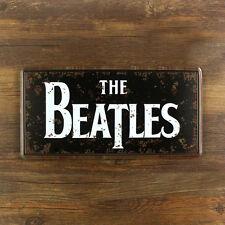 Signo de los Beatles Metal Sign plato de estaño - 30x15cm