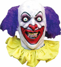 Morris Costumes Creepy Lust Clowns Purple Mask. TA479