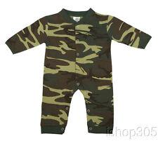 Rothco Woodland Camo Infant Long Sleeve & Leg 1 piece Bodysuit Baby Oniese 67057