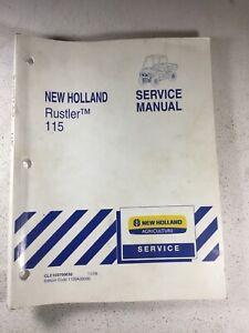 New Holland 115 Rustler Service Manual