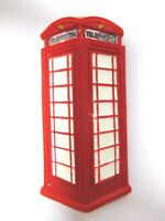 London Magnet Telefonzelle rot Poly Souvenir Great Britain,Neu