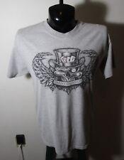 """Men's HARLEY DAVIDSON Gray """"Las Vegas"""" T-Shirt Size L"""