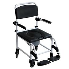 Toilettenstuhl Nachtstuhl Dusch WC - Stuhl Aluminium Stuhl Rollstuhl Mobilex