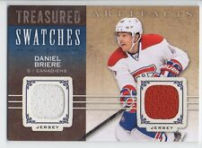 Daniel Briere 14/15 UD Artifacts Treasured Swatches #TS-DB