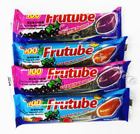 Gummy Pastille Blackcurrant Flavors Assorted FRUTUBE LOT100 35g MUST TRY IT