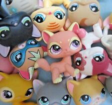 Littlest Pet Shop Lot 3 Random Shorthair Siamese Kitten Cats BUY3 GET 1 FREE