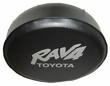 SpareCover® ABC Series - TOYOTA Rav4 Tire Cover Silver Metallic logo HD vinyl