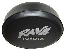 SpareCover® ABC Series - TOYOTA Rav4 Tire Cover Silver Metallic logo HD vinyl