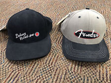 Vintage 90's Era Fender and Deluxe Reverb Baseball Hats/Caps