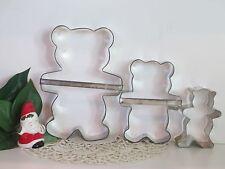 Three Bear Nursery Rhyme Christmas Cookie Cutters Papa Mama Baby