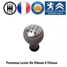 Peugeot 1007 206 207 301 307 308 407 508 Pommeau Levier De Vitesse 5 vitesses