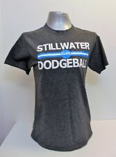 Gray T-Shirt Size S Stillwater Dodgeball Klife