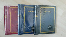 Set of 3 - 72 Page Photo Albums (self adhesive)
