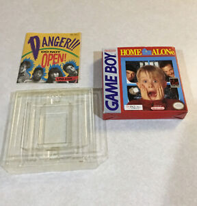 Nintendo Game Boy Home Alone BOX ONLY w/ GAME Plastic Ad for Nintendo Magazine